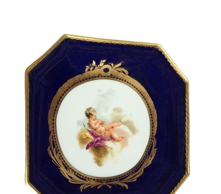 <p>Replica<br />Porcelain<br /> Meissen, Germany<br />18th century</p>