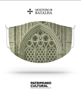 "<p>Adaptation<br /><br />Reusable / washable social textile mask inspired by architectural details, designed by James Murphy, presented in his work ""Plans, Elevations, Sections and Views of the Church of Batalha"", published in fascicles, between 1792 and 1795.<br /><br />- Size M<br />- Level 3 protection certified by CITEVE<br />- Composition: 100% polyester<br />- Includes 5 TNT filters<br />- Washable at 60º<br />- Made in Portugal<br /><br />Mosteiro da Batalha</p>"