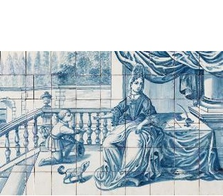 <p>Adaptation<br />Faience<br />Lisbon, c. 1720-1730</p>