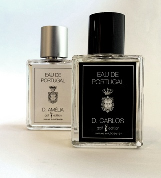 <p>Eau de Portugal, is a portuguese product, manufactured in Portugal, created from frangrances associated to two national personalities, the last kings of Portugal, well known for their good taste and character: D. Carlos and his wife D. Amélia.<br /> Inspired by the personality of H.R. M. the King D. Carlos I of Portugal (1863-1908), this fragrance was created for men, connectin the virtues of the sea breeze and the odours of the forest, to his love for nature and arts.</p>