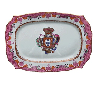 "<p class=""MsoNormal"">Replica<br /> Porcelain<br /> <em>Qianlong</em> period<br />1736-1795</p>